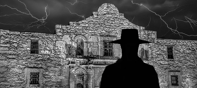 Shadow Person in the Alamo City