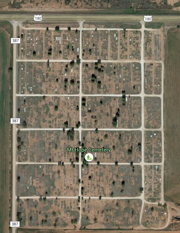 Aerial of Cemetery