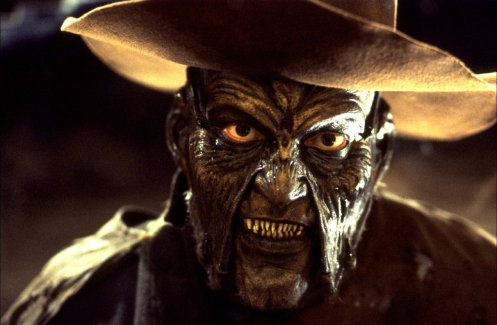 My uncle said that the best way to describe this being was by comparing it to the creature from the movie, Jeepers Creepers.