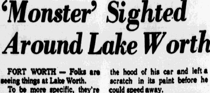 Lake Worth Monster