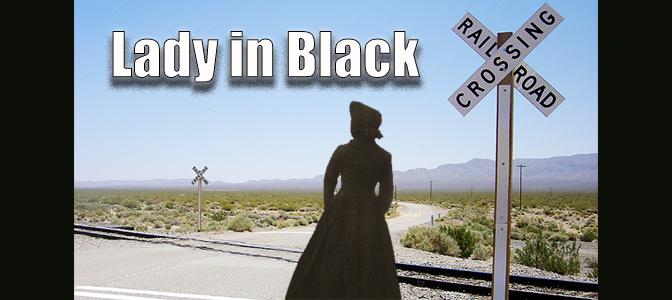 Ghost Lady in Black in McAllen, Texas