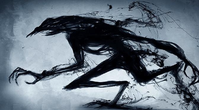 Slender-Limbed Shadow Creature Sighting (Palacios, TX)