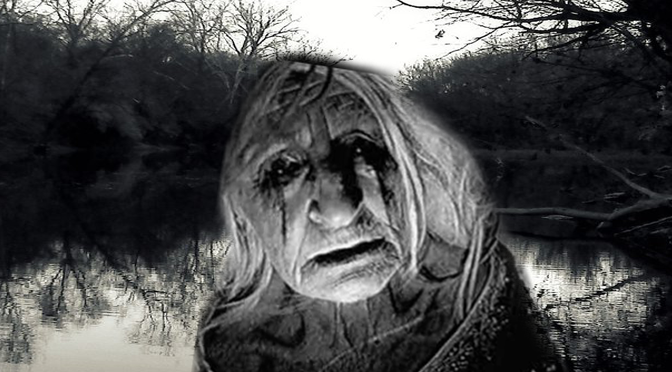 Lured By A Crying Ghost Lady In Black