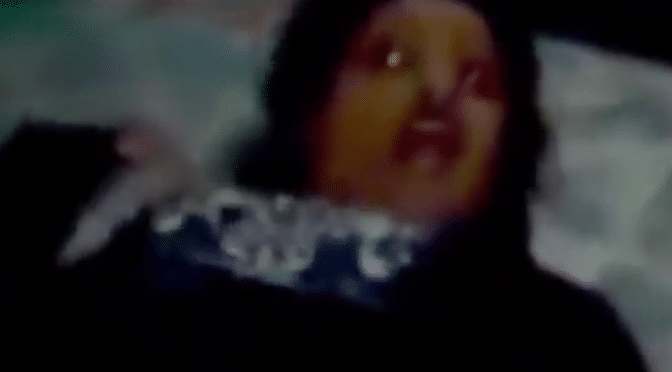 Woman gets possessed every night