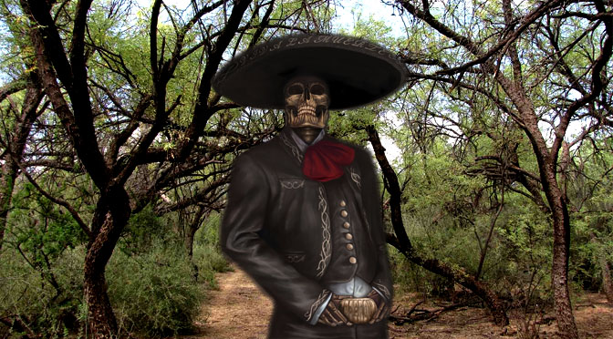 Ghost Charro attempts to kidnap little boy (Santa Maria, TX)